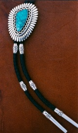 Bolotie with turquoise 1