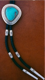 Bolotie with turquoise 2