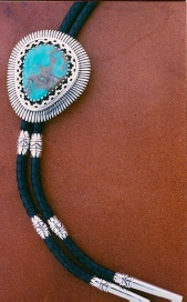 Bolotie with turquoise 3